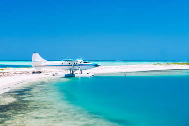 You can only access Dry Tortugas by boat or seaplane.