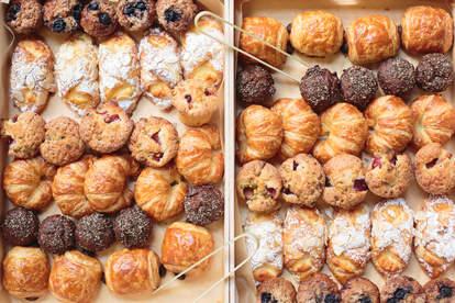 box of breakfast pastries