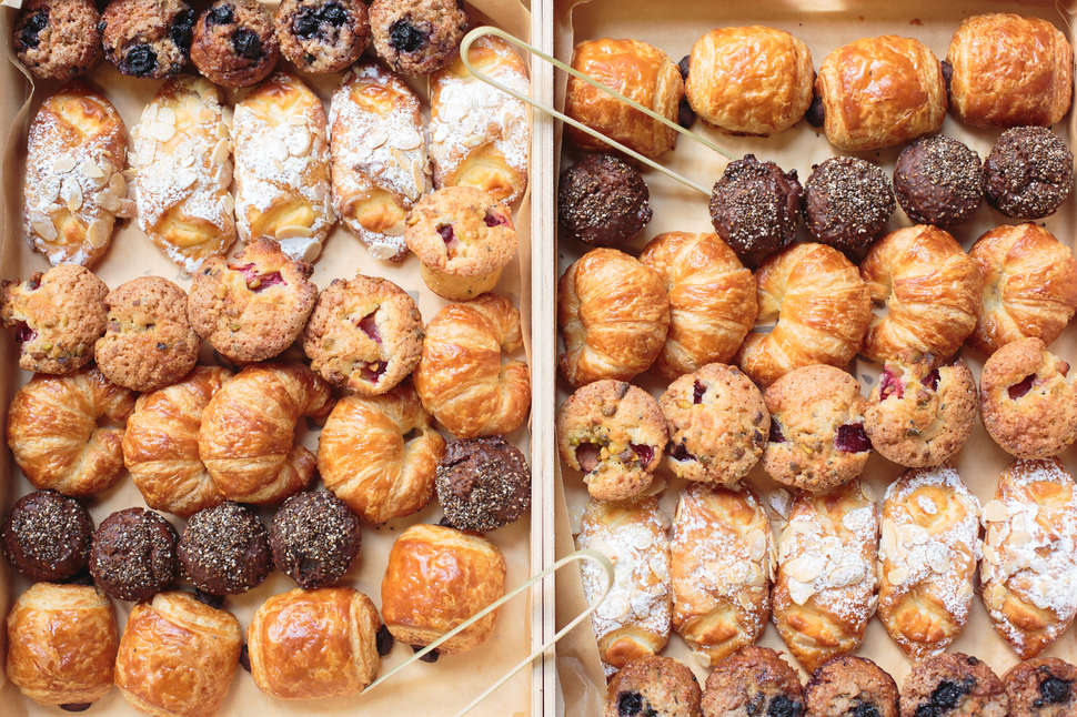 box of breakfast pastries