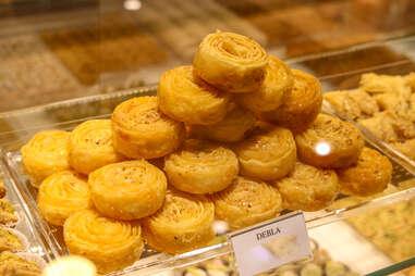 debla tunisian sweets deblah fleur dessert pastry syrup