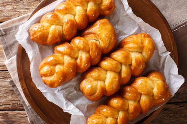 south african koeksisters candy dessert bread braid syrup