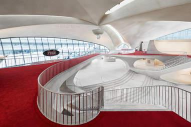 TWA Hotel architecture interior