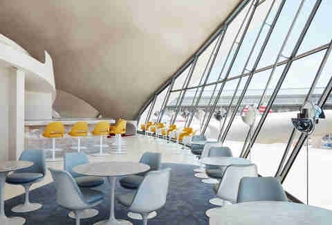 paris cafe twa hotel