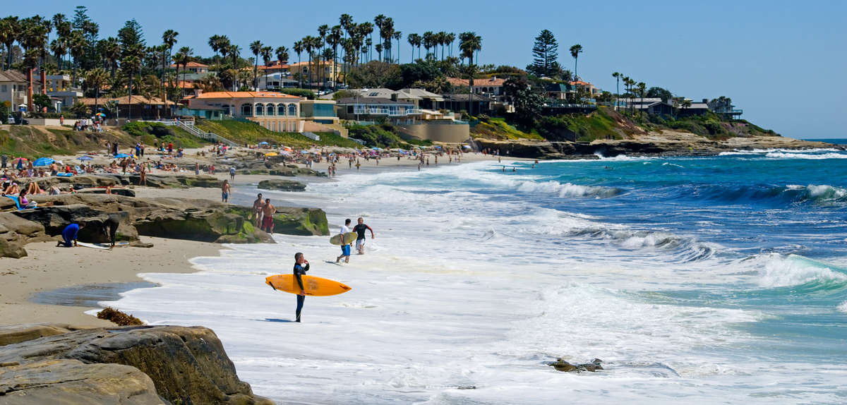 Best San Diego Beaches Most Beautiful Beaches And Top Surf Spots Thrillist