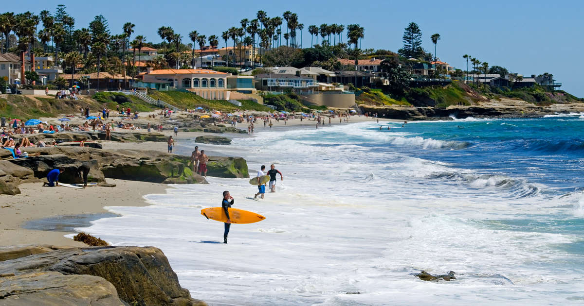Best San Diego Beaches: Most Beautiful Beaches and Top Surf Spots -  Thrillist