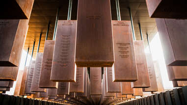 The National Memorial for Peace and Justice, Montgomery, Alabama