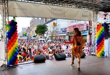 bronx pride march festival