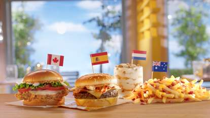 mcdonalds global menu items