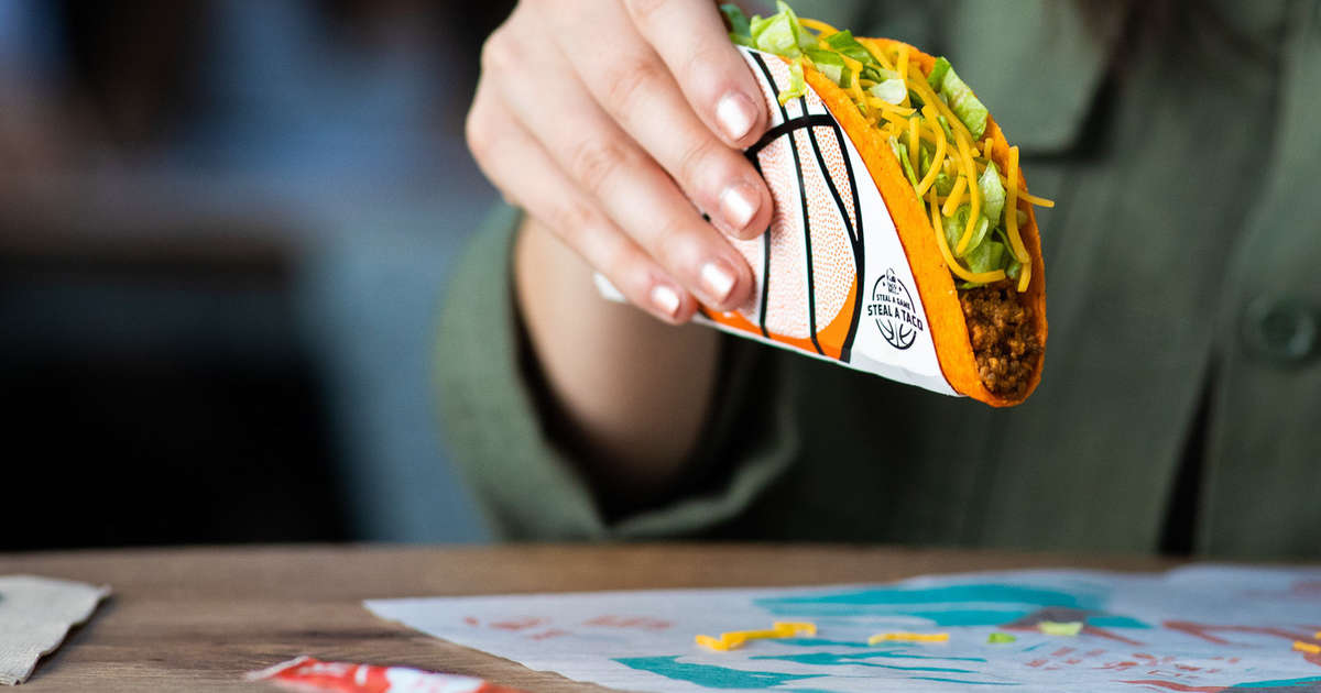 Everyone Gets Free Taco Bell on June 18
