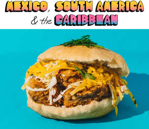 Mixico, South America & the Caribbean Bake and shark