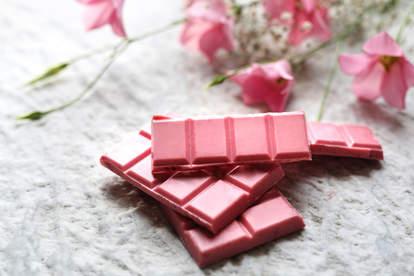 pink ruby chocolate bars