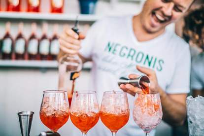 dante cocktail spritz