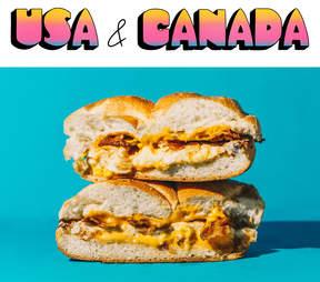 USA & Canada Bacon, egg and cheese