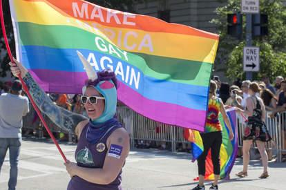 Capital Pride Parade in Washington, DC