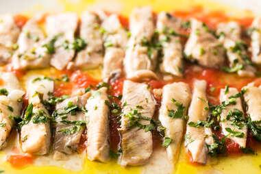 filets of albacore tuna fish sustainability seafood ecology