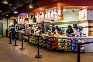 Jersey Mike's interior