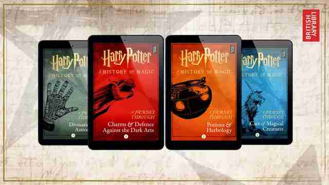 four new harry potter books