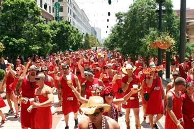 New Orleans Red Dress Run
