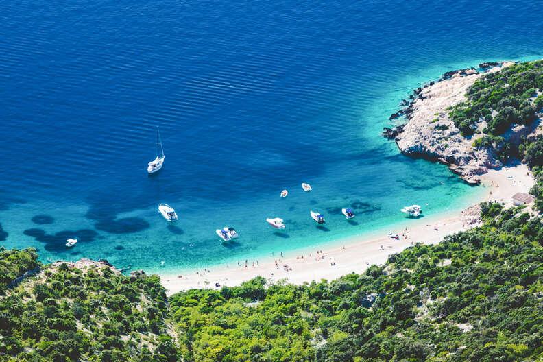 Lubenice Cres, Croatia