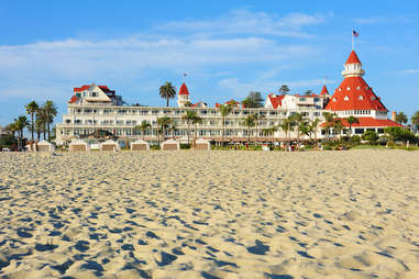 Hotel del Coronado Beach