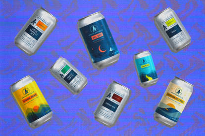 Athletic brewing cans