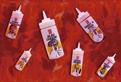 Guy Fieri Chicken Guy Sauces