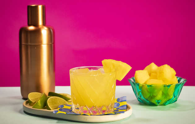 Kick Back and Savor Summer with a Pineapple Caipirinha