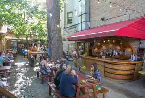 Sheffield's Beer and Wine Garden