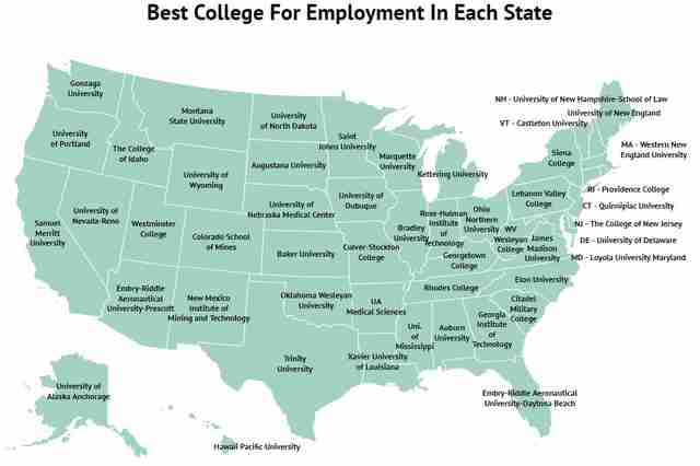 Colleges In New England >> Zippia Report Reveals Colleges Most Likely To Land You A Job