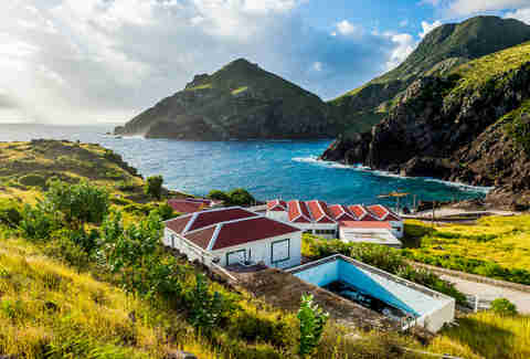 Caribbean, Netherland Antilles, Saba