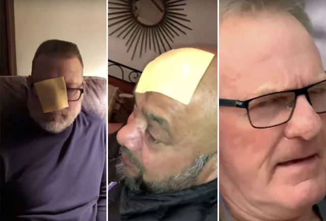 Kimmel Got People to Throw Cheese at Their Dads for Father's Day & It Was Hilarious