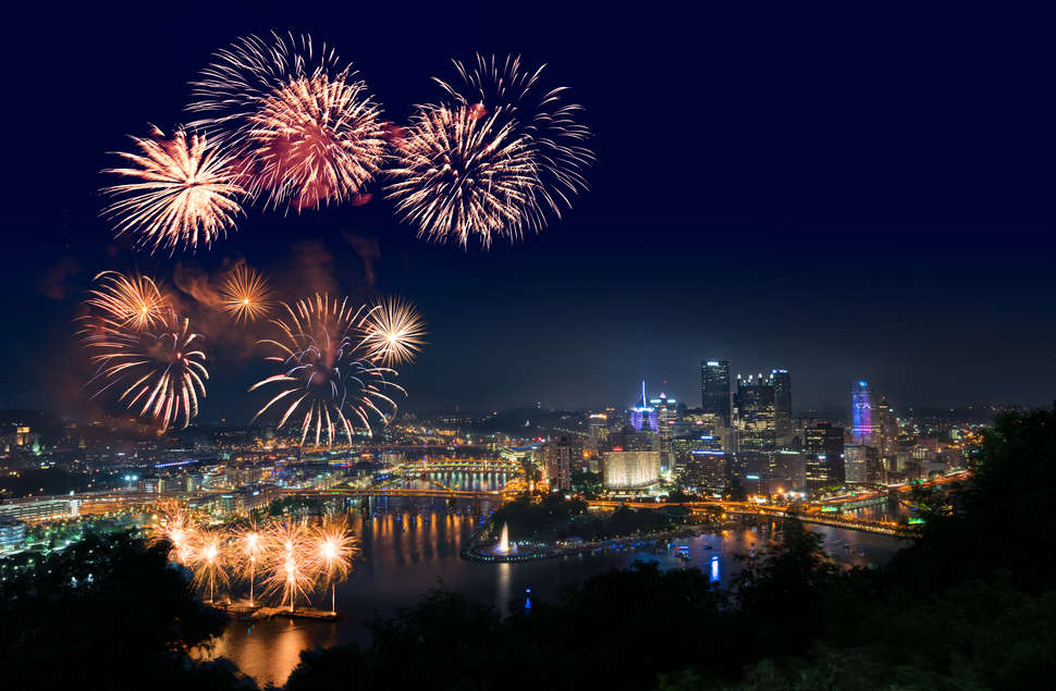 pittsburgh fourth of july fireworks show