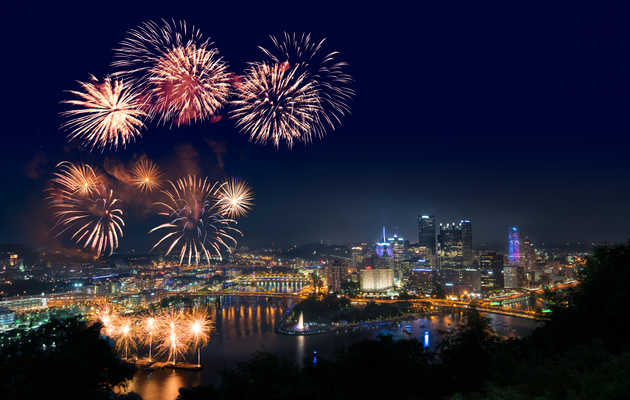 Where to Watch 4th of July Fireworks Around Pittsburgh