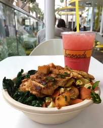 Mango Chicken at Lemonade