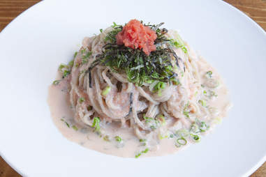 Chilled Mentaiko Soba Noodles cocoron