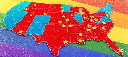 Gay friendly states