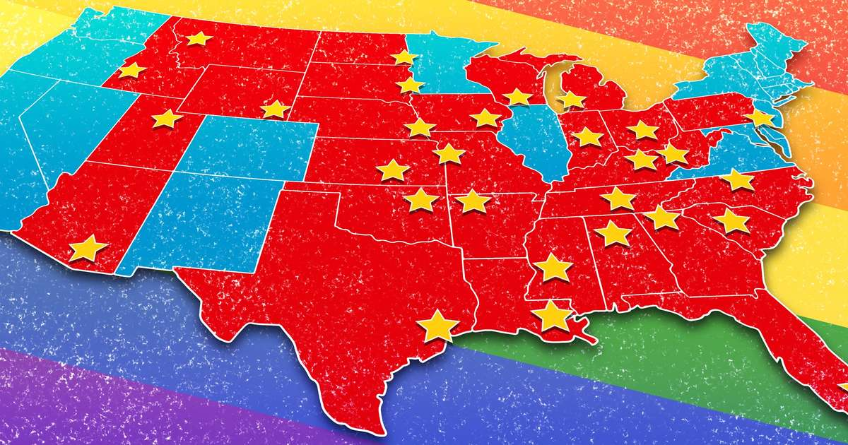 Most Gay Friendly Cities in Conservative States: LGBTQ Rights Lawshrillist