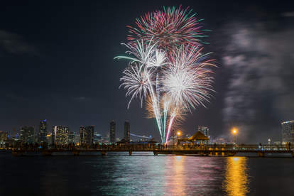 coronado island fireworks