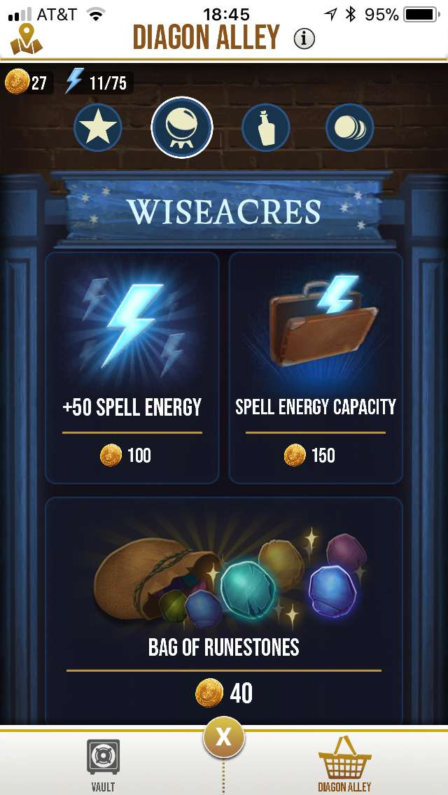 How to Get Spell Energy in 'Harry Potter: Wizards Unite