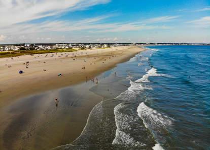 Hampton Beach aerial