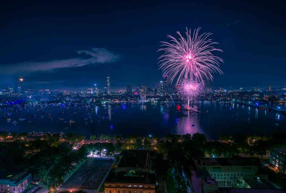 Boston 4th of July Fireworks 2019: Where to Watch, Start