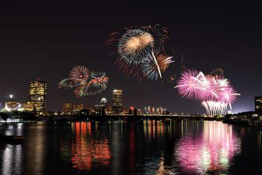 charles river fireworks