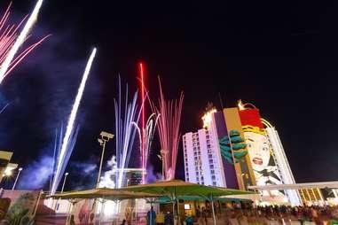 the plaza fireworks