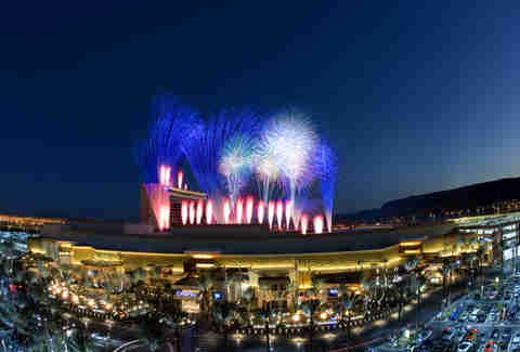 Red Rock Resort fireworks