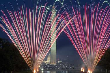 Washington Monument fireworks