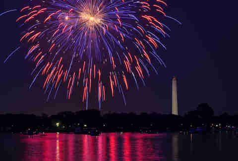 Kennedy Center Terrace fireworks