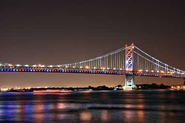 The Benjamin Franklin Bridge