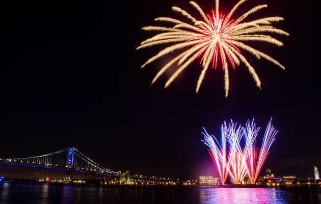 Where to Watch the 4th of July Fireworks in Philly