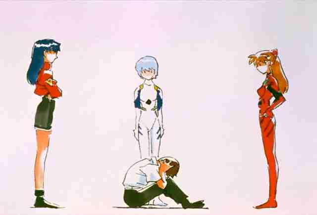 Image result for Evangelion finale