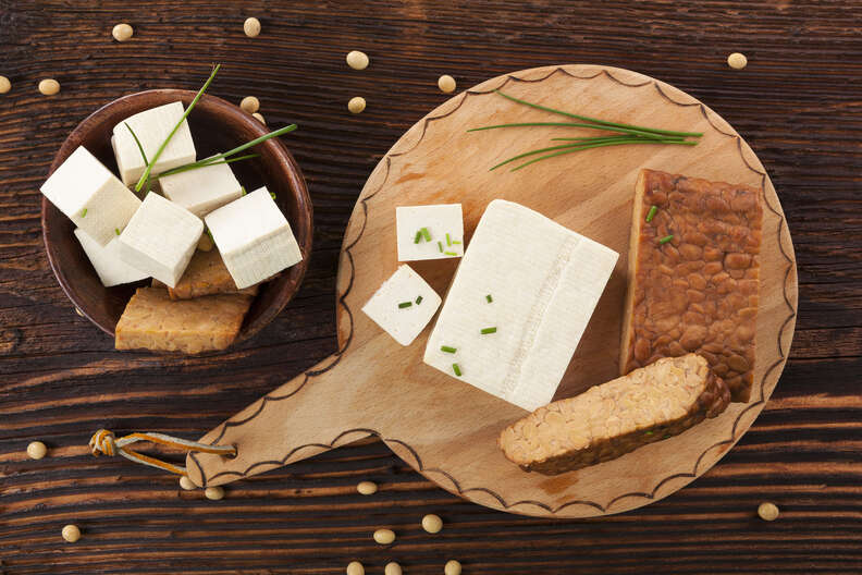 tofu and tempeh